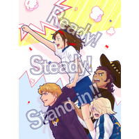 Doujinshi - TIGER & BUNNY / Keith x Ivan (Ready! Steady! Stand-in!!) / ESPERANZA