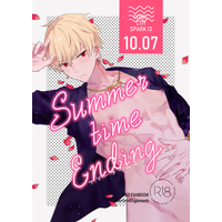 [Boys Love (Yaoi) : R18] Doujinshi - Fate/Grand Order / Gilgamesh & Merlin (Summer time Ending) / サンカクトシカク