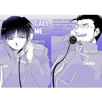 Doujinshi - Fullmetal Alchemist / Roy Mustang & Maes Hughes (CALL ME) / scab0918
