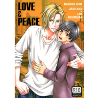 [Boys Love (Yaoi) : R18] Doujinshi - BANANA FISH / Ash x Eiji (LOVE & PEACE) / Zaougumi