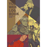 Doujinshi - Illustration book - Yuri!!! on Ice / Yuuri & Victor (YOI WEB LOG BOOK) / ecru