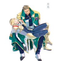 Doujinshi - IRON-BLOODED ORPHANS / McGillis Fareed (月光) / U.D.T. on blue