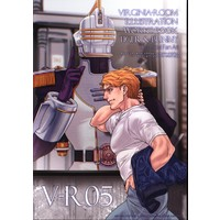 Doujinshi - Illustration book - TIGER & BUNNY / Keith & Ryan Goldsmith (V-R05 *イラスト集) / Virginia Room