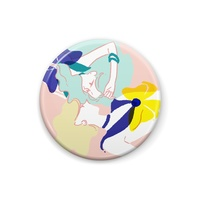 Badge - Sailor Moon / Tenou Haruka (Sailor Uranus) & Kaiou Michiru (Sailor Neptune)