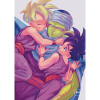 [Boys Love (Yaoi) : R18] Doujinshi - Dragon Ball / Piccolo x Gohan (きみがいくつになっても) / 縷々来来