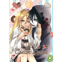 [NL:R18] Doujinshi - Satsuriku no Tenshi / Zack x Ray (Fill the cream donut(缶バッジ2個セット)) / Vanilla and Honey
