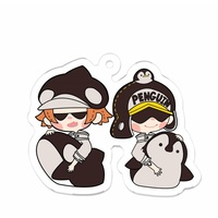 Key Chain - ONE PIECE / PENGUIN & Shachi