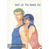 [Boys Love (Yaoi) : R18] Doujinshi - ONE PIECE / Zoro x Robin (Don't Let This Moment End) / 雪屋