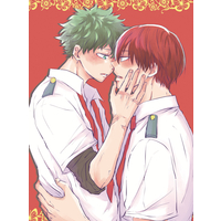 [Boys Love (Yaoi) : R18] Doujinshi - Novel - My Hero Academia / Todoroki Shouto x Midoriya Izuku (有神論) / エイトシックシンドローム