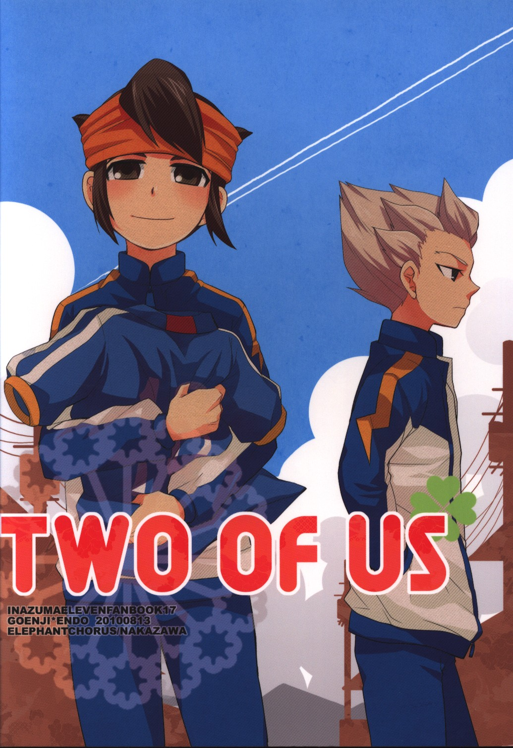 Doujinshi - Inazuma Eleven / Gouenji x Endou (TWO OF US) / elephantchorus