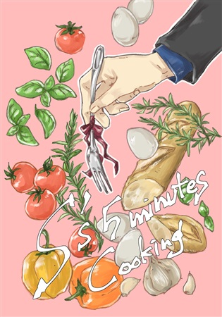 Doujinshi - Novel - Blood Blockade Battlefront / All Characters (S's 5 minutes cooking) / いはみのや