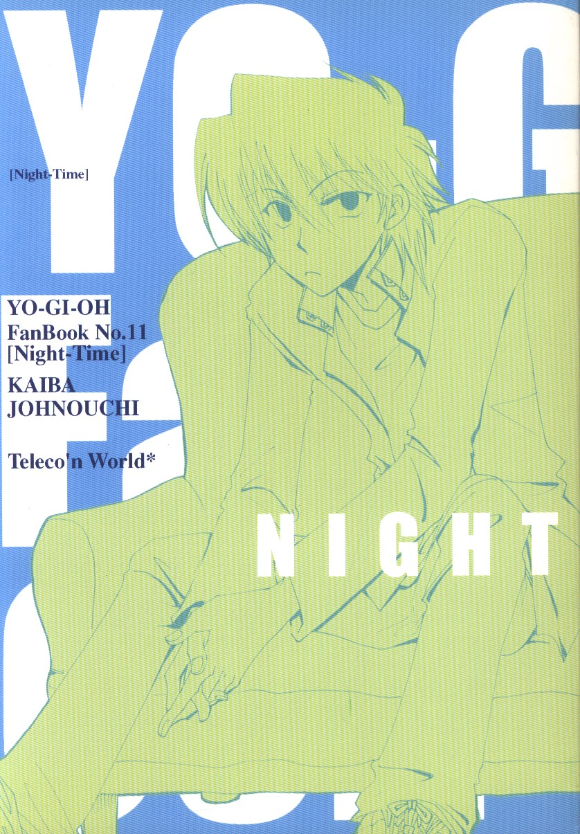 Doujinshi - Yu-Gi-Oh! / Kaiba x Jonouchi (NIGHT TIME) / Teleco'n World