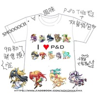 T-shirts - Puzzle & Dragons Size-M
