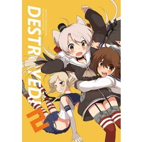 Doujinshi - Illustration book - Kantai Collection ([C90] DESTROYED!2) / metro-electro-booth