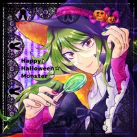 Doujinshi - Illustration book - Danganronpa V3 / Gokuhara Gonta (Happy☆Halloween♪Monster(v)) / おかわりユートピア