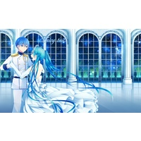 Doujinshi - Illustration book - Anthology - VOCALOID (Fairy tail【ボカロ画集】) / G.Leaf