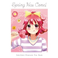 Doujinshi - Illustration book - Dokidoki! Precure / Mana & Rikka (Spring has come!) / Sweet Potato/ぶるーべりーたると(仮)