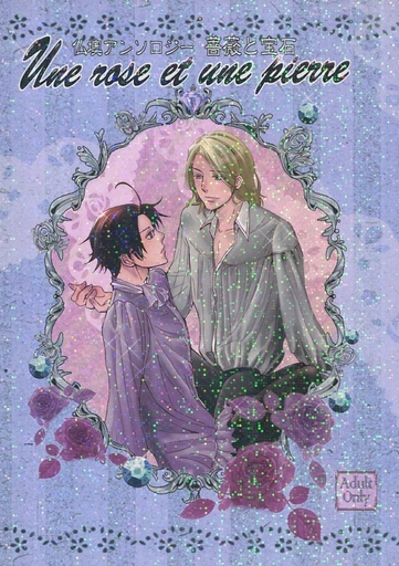 [Boys Love (Yaoi) : R18] Doujinshi - Manga&Novel - Anthology - Hetalia / France x Austria (仏墺アンソロジー 薔薇と宝石 Une rose et une pierre) / ずれてます