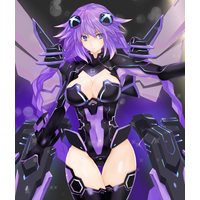 Doujinshi - Illustration book - Chou Jigen Game Neptune / Neptune (Purple Heart) (NepTuneAceVol.3) / 紫心亭