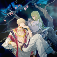 Doujinshi - Illustration book - Fate/Grand Order / Gilgamesh x Enkidu (王様と白い獣) / Comic Valley