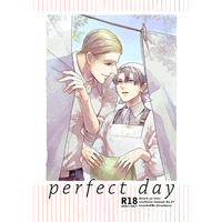 [Boys Love (Yaoi) : R18] Doujinshi - Shingeki no Kyojin / Erwin x Levi (perfect day) / Mr.Strawberry