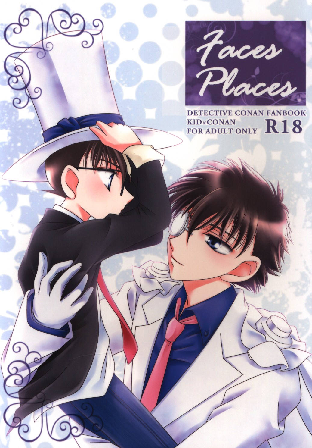 [Boys Love (Yaoi) : R18] Doujinshi - Meitantei Conan / Phantom Thief Kid x Edogawa Conan (Faces Places) / KA-MAX