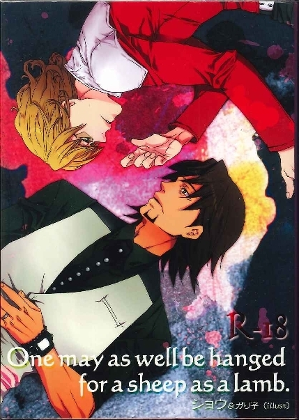 [Boys Love (Yaoi) : R18] Doujinshi - Novel - TIGER & BUNNY / Kotetsu x Barnaby (One may as well be hanged for a sheep as a lamb.文庫版) / ヴィラル親衛隊:シュテルンビルト支部