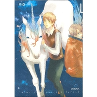 [Boys Love (Yaoi) : R18] Doujinshi - Novel - Hetalia / America x United Kingdom (Lucy in the sky with Diamonds) / 翼リセット