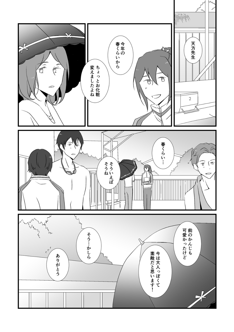 Doujinshi - Free! (Iwatobi Swim Club) / Sosuke x Rin (HERE COMES YOUR MAN) / ヲトシンクルス