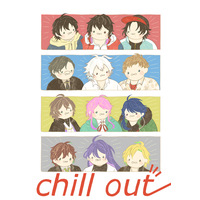 Doujinshi - Hypnosismic / All Characters (chill out) / menka