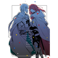 Doujinshi - Fate/Grand Order / Bedivere x Tristan (あの世と楽園の境界に吹雪く愛を飲み込んで微笑み) / Mouchottodake