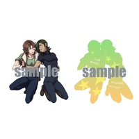 Key Chain - Mobile Suit Gundam 00 / Allelujah Haptism & Lockon Stratos