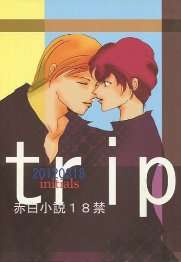 [Boys Love (Yaoi) : R18] Doujinshi - Novel - Gundam series / Char Aznable x Amuro Ray (trip) / INITIALS