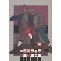 Doujinshi - Illustration book - Meitantei Conan / Akai x Amuro (A PAIR OF SOCKS) / EGG CONTAINER