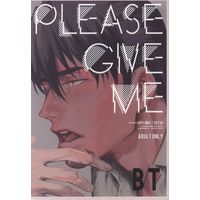[Boys Love (Yaoi) : R18] Doujinshi - TIGER & BUNNY / Barnaby x Kotetsu (PLEASE GIVE ME ☆TIGER&BUNNY) / OFFLIMIT