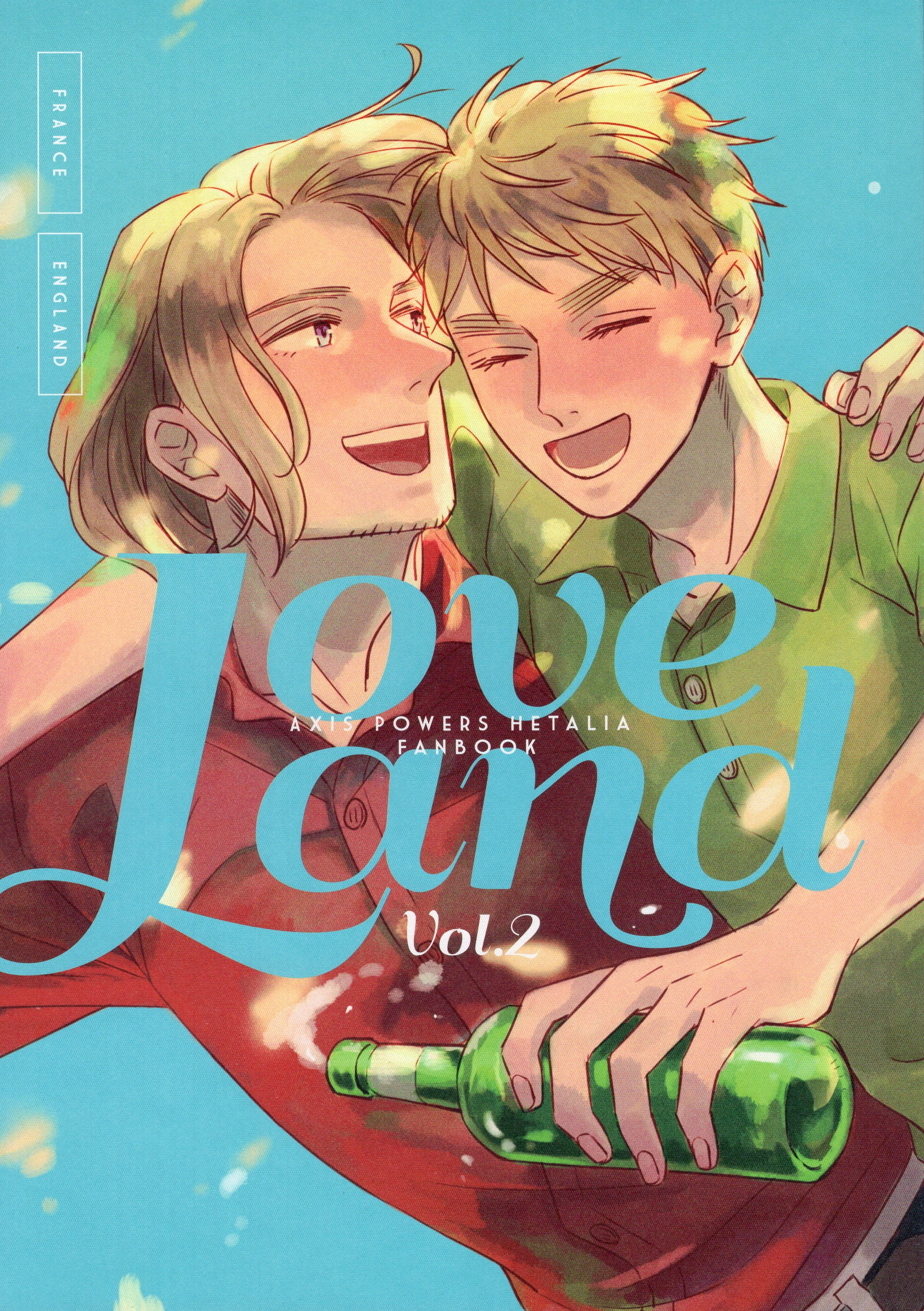Doujinshi - Hetalia / France x United Kingdom (Love land vol.2) / Fiz