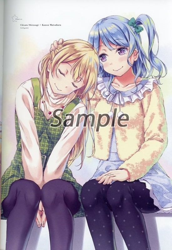 Doujinshi - Illustration book - BanG Dream! / Shirasagi Chisato & All Characters (Girlgenic) / simplessive