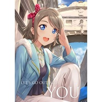 Doujinshi - Illustration book - Love Live! Sunshine!! / Watanabe You (Let's go out with YOU) / S.I.FACTORY