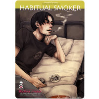 [Boys Love (Yaoi) : R18] Doujinshi - Eyeshield 21 (HABITUAL SMOKER) / 路地裏