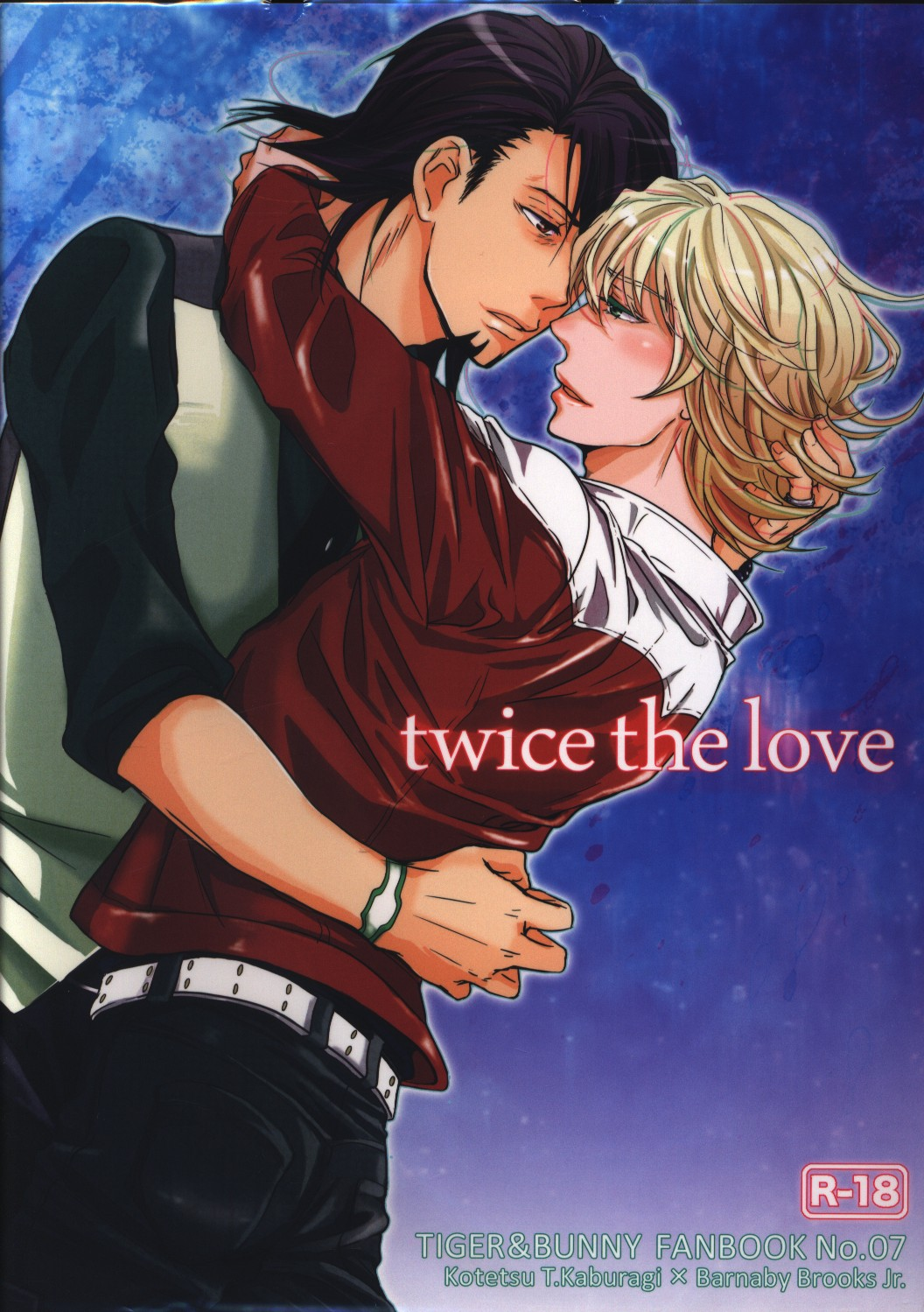 [Boys Love (Yaoi) : R18] Doujinshi - TIGER & BUNNY / Kotetsu x Barnaby (twice the love) / 92