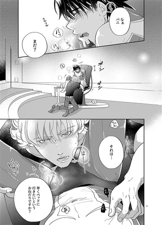 [Boys Love (Yaoi) : R18] Doujinshi - TIGER & BUNNY / Barnaby x Kotetsu (SO!SWEET!SUIT!) / コテポジ