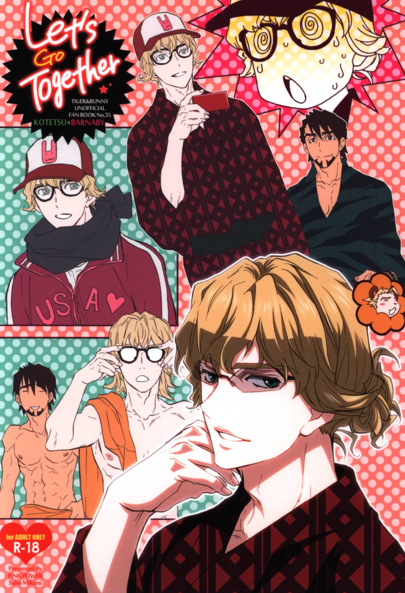 [Boys Love (Yaoi) : R18] Doujinshi - TIGER & BUNNY / Kotetsu x Barnaby (Let's Go Together) / PINK POWER