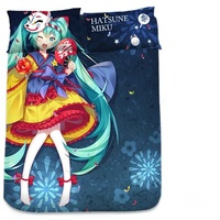 Blanket - Bed Sheet - VOCALOID / Miku & Snow Miku