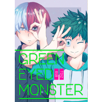 [Boys Love (Yaoi) : R18] Doujinshi - My Hero Academia / Todoroki Shouto x Midoriya Izuku (GREEN EYED MONSTER) / around-S