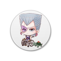 Badge - Jojo Part 3: Stardust Crusaders / Polnareff & Silver Chariot