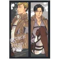[Boys Love (Yaoi) : R18] Doujinshi - Shingeki no Kyojin / Erwin & Levi (attack on titan *再録) / MICROMACRO