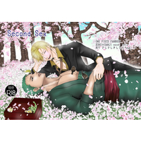 [Boys Love (Yaoi) : R18] Doujinshi - Novel - ONE PIECE / Zoro x Sanji (Second Sex) / さしさしきしと