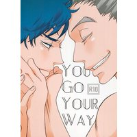 [Boys Love (Yaoi) : R18] Doujinshi - Novel - Haikyuu!! / Bokuto Koutarou x Akaashi Keiji (YOU GO YOUR WAY) / by my Brightness