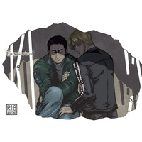 [Boys Love (Yaoi) : R18] Doujinshi - Biohazard (Resident Evil) / Leon S  Kennedy & Chris Redfield (Purgatorium) / マルハチ