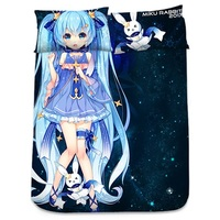 Bed Sheet - VOCALOID / Miku & Snow Miku